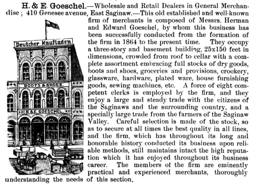 Goeschel Brothers.